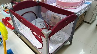 Baby cots, high chairs and accessories