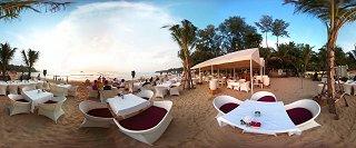 Кафе и рестораны на пляже Банг Тао